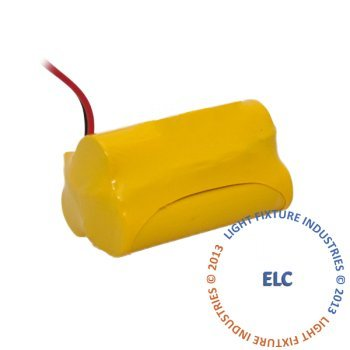 LFI Lights - Emergency Light Battery AA NiCAD 3.6V 900mAh...