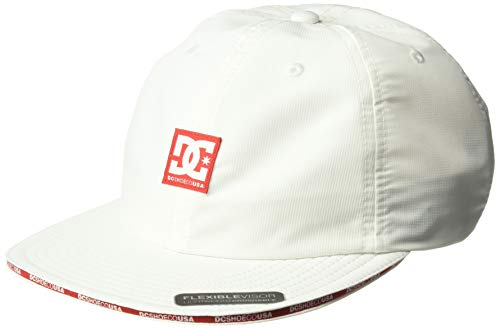 DC Men's Sandwich Trucker HAT, Snow White, 1SZ from DC