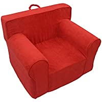 Fun Furnishings Everywhere Foam Chair, Red