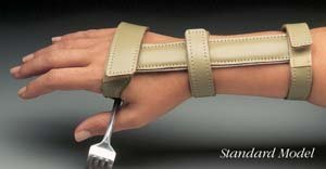Standard Wrist Orthosis with Universal Cuff- Adult Right Hand by North Coast Medical