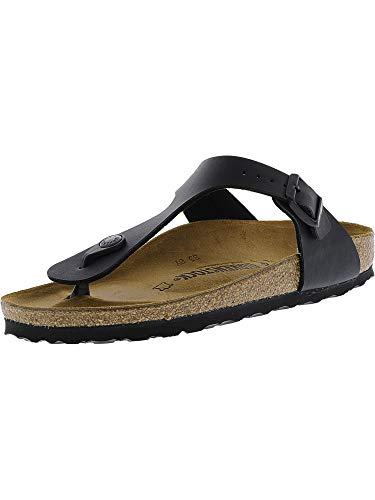 Birkenstock Women's GIzeh Thong Sandal, Black (Birko Flor), 40 N EU/9-9.5 2A(N) US