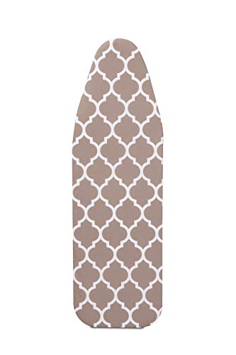 (Mabel Home ironing Board Padded Cover, 100% Cotton, 54