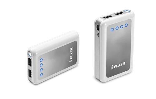 iFlash Dual USB 8400mah External Battery Charger Source w...