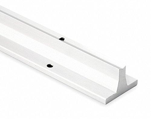 Aluminum 0.625 in D 24 in Support Rail
