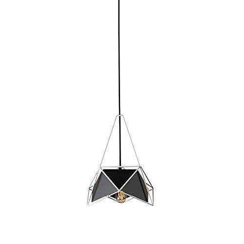 Mengzhu-Michelle Dining Table Lamp E27 Iron Pendant Lamp Modern Minimalist Pendant Lamp Creative Design Suspension Lamp Indoor Lighting Dining Room Pendant Lamp Living Room Bedroom Study - Led Geo Pendant