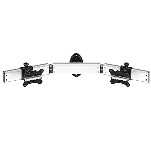Cotytech Dual Monitor Wall Mount for Apple w/Quick Release Low Profile]()