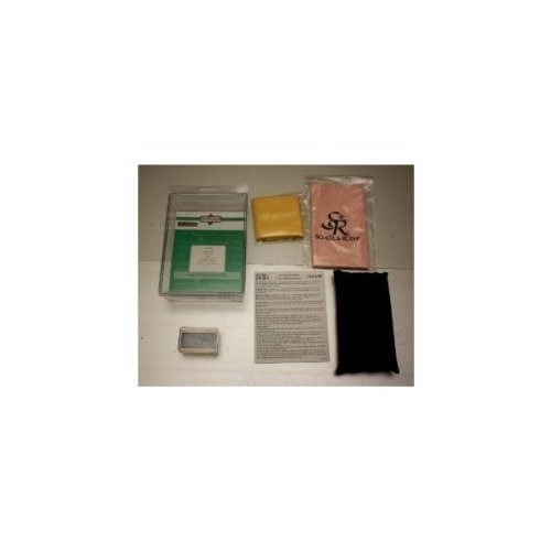 Conn-Selmer Violin/Viola care kit Rosin, Polish cloth, shoulder pillow
