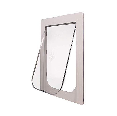 Pozzy Screen Door Pet Door (Large, White)