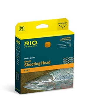 RIO Products Fly Line Skagit Max Long 750gr, Teal/Orange