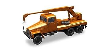 Herpa 308113 IFA G5 grúa Vehículo, Naranja