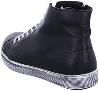 Andrea Conti 0341500073 - Damen Schuhe Freizeitschuhe - schwarz-weiß