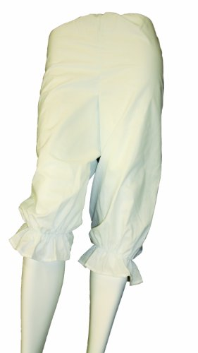 Alexanders Costumes Women's Rag Doll Bloomers, White, Small