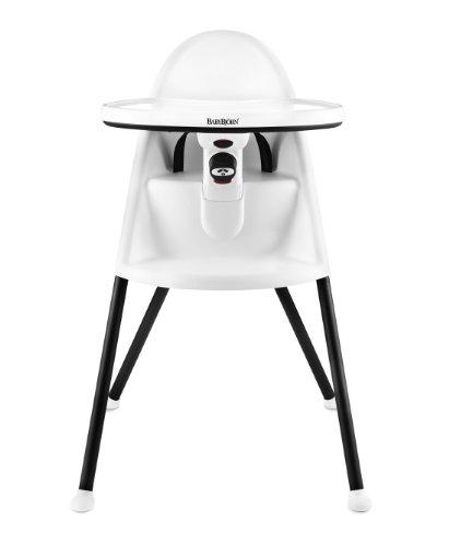 BABYBJORN High Chair, White, Baby & Kids Zone