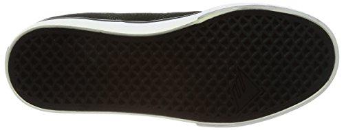 Scarpa Da Skate Emerica Provost Slim Vulc Verde / Nero / Bianco