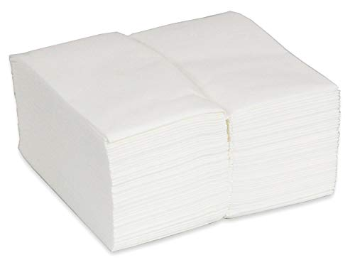 NEW and IMPROVED. SaIe Stock Up For The Holidays Premium Linen Feel Disposable Guest Towels. Cloth Like Disposable Bathroom Napkins. 1/6 Multifold. (100 Pack) Multi-Use. Kitchen and Bathroom. White