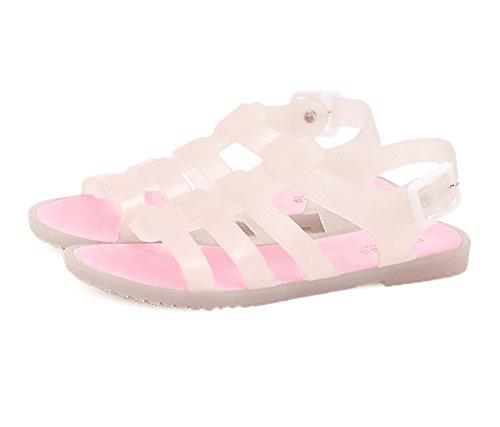 Femmes Sandales Plates Slingback Bout Ouvert Sandale Gel