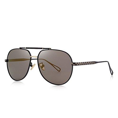 S'8455 protección C04 100 C01 polarizadas masculino hombres Piloto con TIANLIANG04 Negro anteojos UV lujo sol Brown gafas de de BnqP6