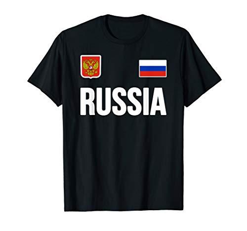 Russia T-shirt Russian Flag Souvenir Love Gift