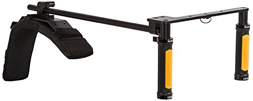 Ikan ELE-GOFLY Handheld Shoulder Rig for GoPro (Black) by Ikan