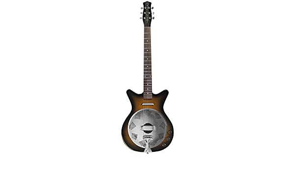 Danelectro 59 - Guitarra eléctrica resonadora, multicolor: Amazon ...