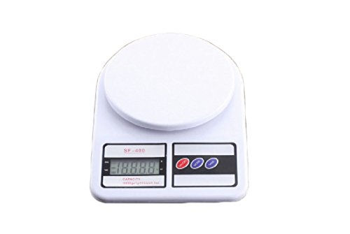 SportsX Clear Max Weight with Counting Feature 11lb 5kg High-precision Big Platform Digital Home Personal Digital Pocket Scale AS5