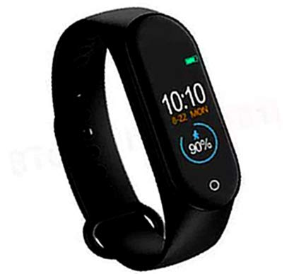 SBA999 ZM-4 Waterproof Smart Intelligent Activity Tracker   Fitness Band Compatible to Xiaomi/Oppo/Vivo Mobile Phones Steps,Calorie Counter,BP, Heart Rate Monitor Music,Camera Controller Price & Reviews
