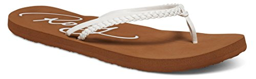 Roxy Women's Cabo Flip Flop, White, 8 M US for sale  Delivered anywhere in USA