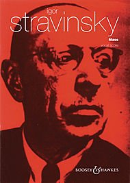 Double Wind Quintet - Boosey and Hawkes Mass (for Mixed Chorus and Double Wind Quintet) Vocal Score composed by Igor Stravinsky