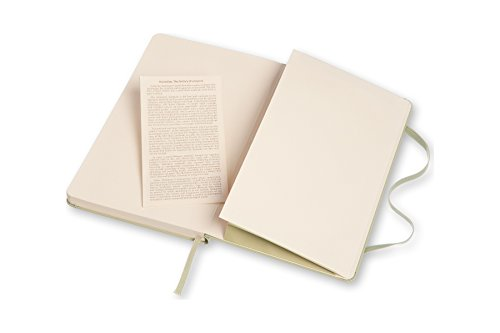 Moleskine Classic Notebook, Large, Ruled, Willow Green, Hard Cover (5 x 8.25) by Moleskine (Image #6)