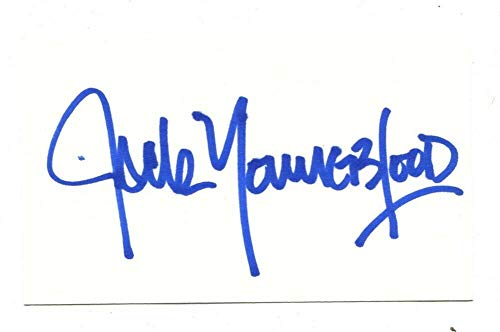 Jack Youngblood Signed Autographed 3 X 5 Index Card L A Rams 45801