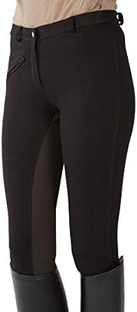 Pfiff Pantalones de equitaci/ón con culera para ni/ños