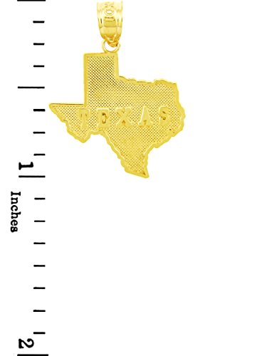 10 ct 471/1000 Or State Of Texas- Pendentif