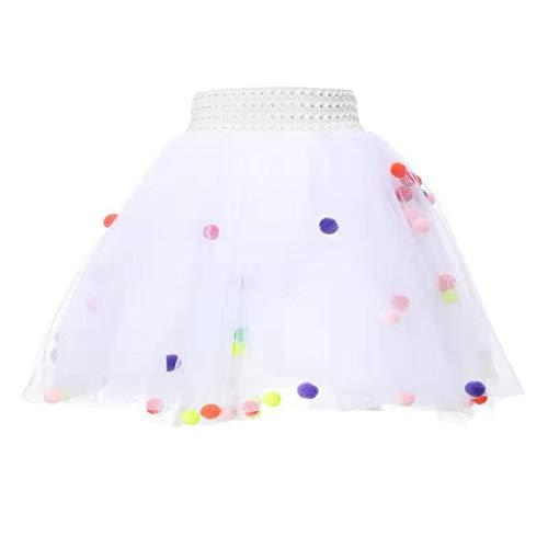 OTINICE Girls Ballet Dance Performance Dress Princess Summer Tutu Skirt Party Pettiskirt ()
