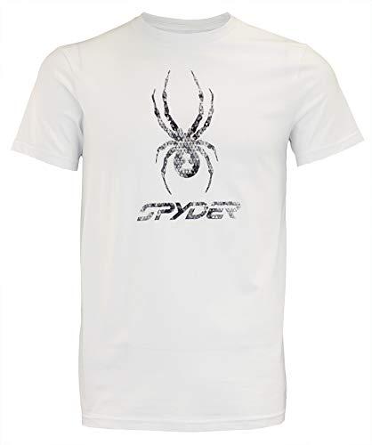 Spyder Men's S/S Graphic TEE White/Black ()