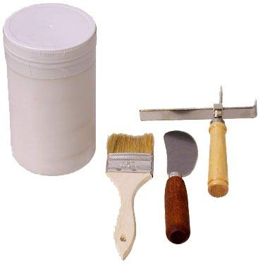 Padding Starter Kit with Padding Compound, Pad Separating Knife, Adjustable Pad Counter and Glue -