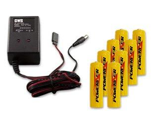 Amazon.com: Batería + Cargador Combo para RC transmisores ...
