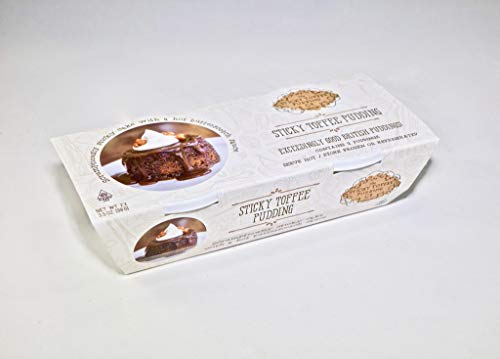 - Sticky Toffee Pudding Co Twin Pack Sticky Toffee Pudding 2 x 3.5ox (2 Packs - 4 Puddings)