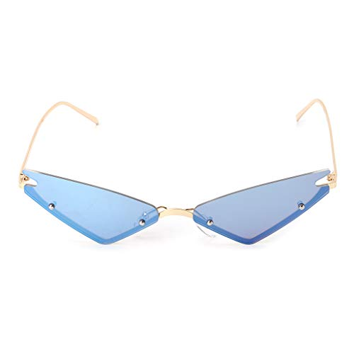 Eye Uv400 Designer Soleil Lunettes Sans Marque Monture Triangle Mode Vintage Cat De 2 Yanhonin wvqpq