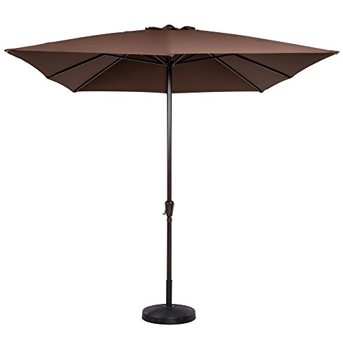 8 foot rectangular patio umbrella california umbrella for Patio table umbrella 6 foot