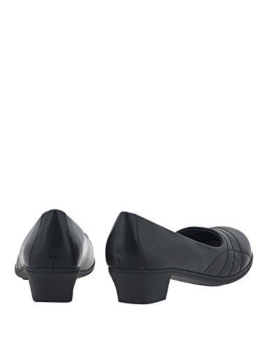 Loafers Nikki Komfort Kvinners Me Svart AqSBwtq