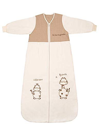 Slumbersafe Toddler Sleeping Bag Long Sleeves 2.5 Tog - Cartoon Animal, 18-36 Months
