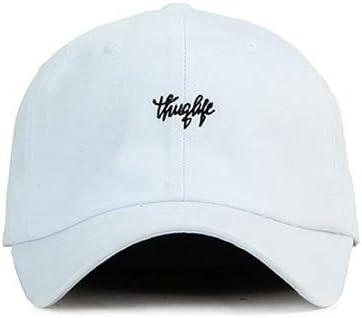Hatrita-J Sombrero y gorra negra con letras blancas bordadas par ...