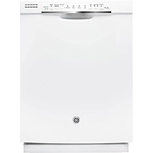 GE GDF570SGJWW 24'' White Full Console Dishwasher - Energy Star by GE
