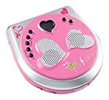 : Kidz Music Stars Portable CD Player w/Built in Speakers