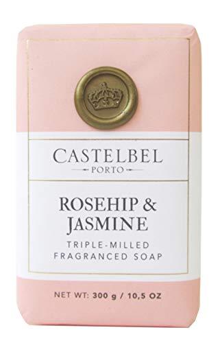 (Castelbel Porto Rosehip Jasmine Triple Milled Soap Bar 10.5 Oz)