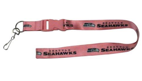 NFL Seattle Seahawks Lanyard, Pink]()