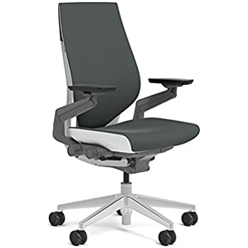 Steelcase 442A40-5S25 Gesture Chair, Graphite
