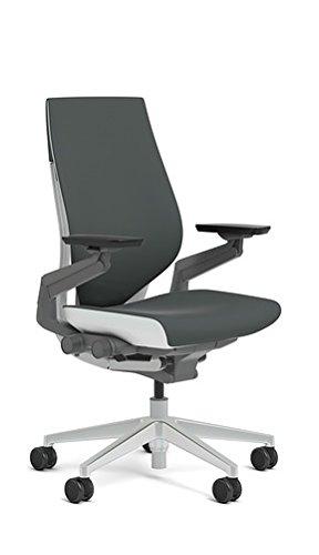 Steelcase 442A40-5S25 Gesture Chair, Graphite