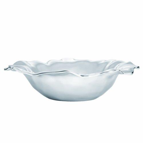 Lenox Organics Ruffle 13.75-Inch Medium Bowl