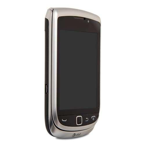 Blackberry Torch 9810 8GB Unlocked GSM 4G HSPA+ OS 7.0 Slider Phone - Zinc Grey